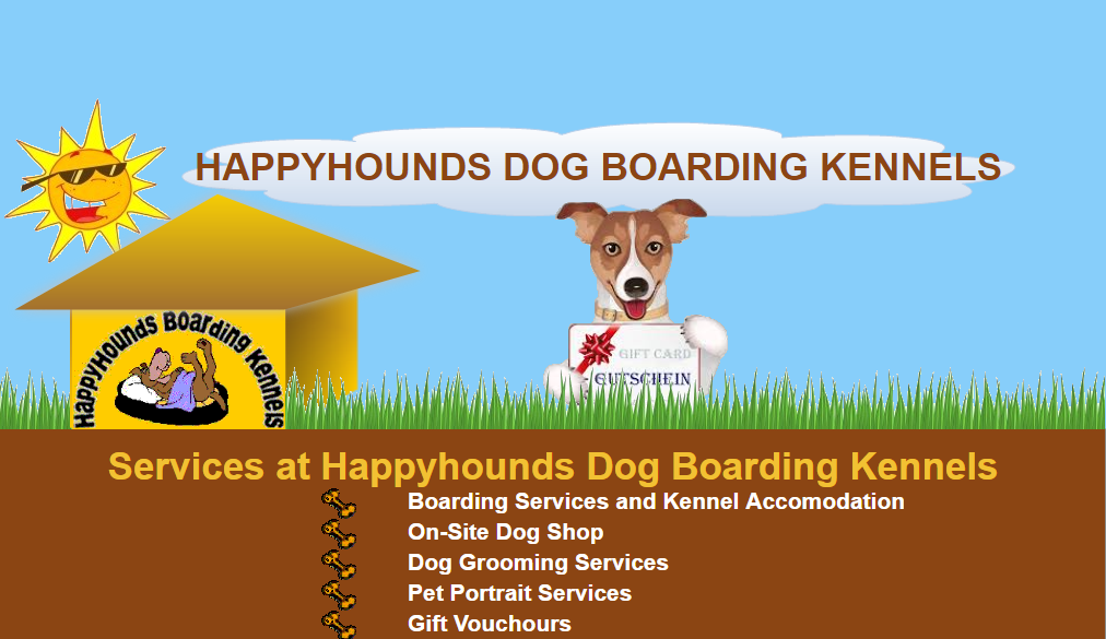 Boarding Kennels For Dogs servicing Dublin - Gift Voucher